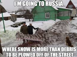 Russia Meme - russians appreciating snow art imgflip