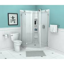 800 Pivot Shower Door by Shop American Standard Axis 27 875 In To 27 875 In Frameless Pivot