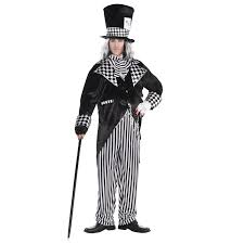 jester halloween costumes mens dark mad hatter tea party fancy dress costume jester