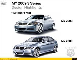 bmw 328i xdrive vs audi a4 quattro photos comparison 2008 bmw 3 series vs 2009 3 series facelift