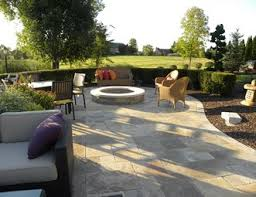 Patio With Firepit Fire Pit Pictures Gallery Landscaping Network