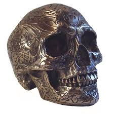 Celtic Skull - celtic skull silver medium the celtic craft shop