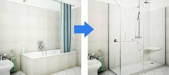 trasformare una doccia in vasca da bagno come trasformare la vasca in doccia bagnolandia