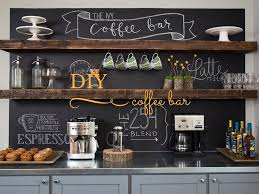 diy coffee bar fixer upper mission stone tile for the home