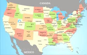 Ez Pass States Map List Of Us State Abbreviations Wikipedia American States In United