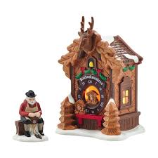 Home Interiors Nativity by Department 56 4054960 Christmas Market Black Forest Clocks