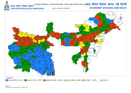North India Map by Vagaries Of The Weather