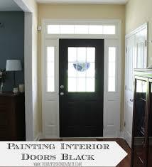 Front Door Interior Easy Way To Make A Big Change In Your Home Paint Interior Doors