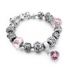 pandora bracelet set images Crystal beads fit pandora bracelet gold jewelry diy pulseiras jpg