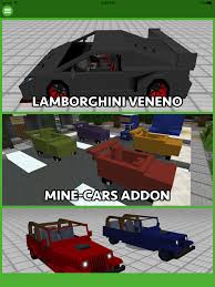 minecraft ferrari cars addons for minecraft pocket edition pe app ranking and
