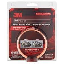 Auto Use Floor Plan 3m Auto Advanced Headlight Restoration System Walmart Com