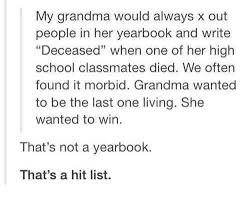 yearbook lookup my would always x out in yearbook and write