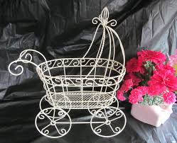baby stroller centerpiece for baby shower baby shower decoration