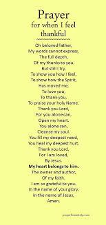 prayer for when i feel thankful faith thankful