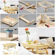 diy tray diy simple bed tray