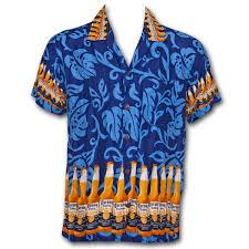bottle aloha hawaiian shirt