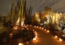 Desert Botanical Gardens Luminarias Where To See Lights In Home For The Holidays