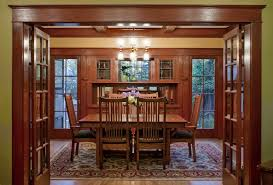 laurelhurst 1912 craftsman dining room after hooked on houses