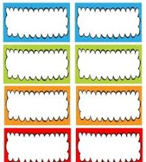 printable name tags free name tag templates kindergarten come back tomorrow for name