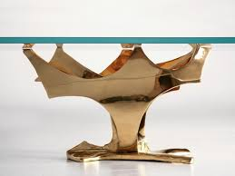 Glass And Gold Coffee Table Free Form Bronze And Gold Coffee Table Base For Sale Old Plank