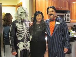 Adam Family Halloween Costumes by Halloween Spirit Shines At Family U0027s Party Cranston Herald