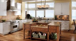 Kitchen Cherry Cabinets by 4 Unique Ways To Use Cherry Cabinets In Your Kitchen Kraftmaid