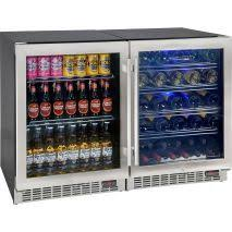 beer refrigerator glass door under bench beer wine bar fridge front venting and quiet running
