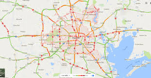 Map Houston Airport Transportation Shutdown In Southeast Texas How We Roll Aug 28