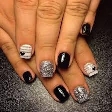 130 beautiful black acrylic nails design ideas black acrylic