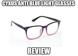 blue light glasses review cyxus anti blue light glasses review gradient pink eyewear