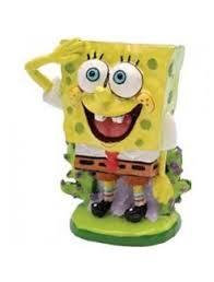 spongebob squarepants genuine aquarium ornaments gary