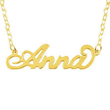 Name Chain Aliexpress Com Buy Any Name Necklace Popular Carrie Font Custom