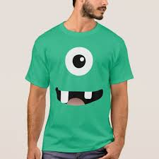 Monster Halloween Costumes Funny Cyclops Eyed Monster Halloween Costume Shirt Zazzle