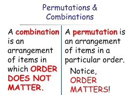 permutations and combinations study material for iit jee