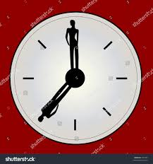 unique clock unique clock people hands stock vector 1502707 shutterstock