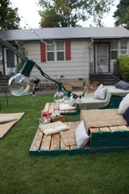 Backyard Home Theater Build Your Own Home Theater Seating With Pallets