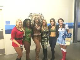 blackhawks ice crew halloween costume cheer heaven check out the tennessee titans cheerleaders