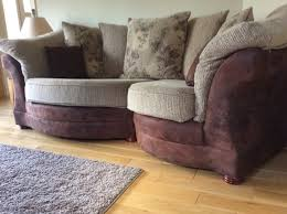 maria 3 seater snuggle sofa and armchair for sale in stamullen