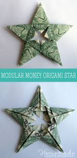 modular money origami from 5 bills how to fold step by step