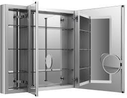 furniture futuristic mirror medicine cabinet with aluminum