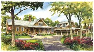 Southern Living House Plans With Pictures River House Southern Living House Plans