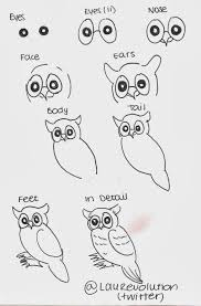 art is the last form of magic how to draw a cartoon owl so simple