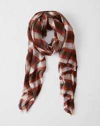 womens plaid scarf womens accessories abercrombie