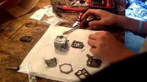 homelite xl 12 sdc carburetor rebuild k10 sdc youtube