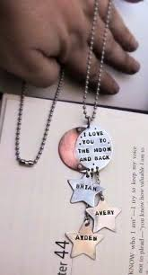 Custom Stamped Jewelry Blessed