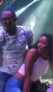 girls kiss girls in bed the worlds fastest star usain bolt caught kissing a in club