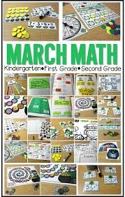 second grade math activities march math centers and more tunstall s teaching tidbits