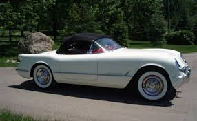 year corvette made corvettes on ebay the 274th 1953 corvette made corvette
