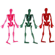 Skeleton Halloween by 24 X Large Stretchy Skeletons Halloween Coloured Wholesale Bulk Buy
