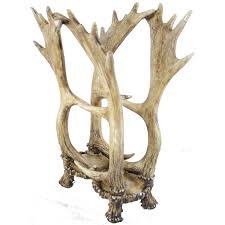 antler magazine rack wildlife creations